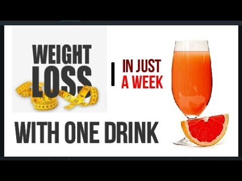 How to Lose Weight Naturally With One Drink | Weight Loss with One   Drink |