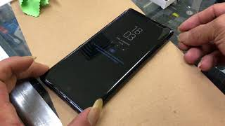 Nano UV Lamp Light Liquid full Glue Glass For Samsung Galaxy Note 9