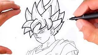 How To Draw Como Desenhar Goku Ssj3 Passo A Passo