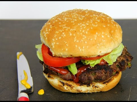 Simple Homemade Burgers - Tasty Tuesday's | CaribbeanPot.com