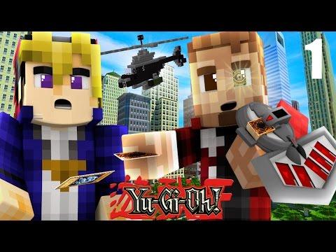 Minecraft Yugioh #1: BATTLE CITY! (Minecraft Roleplay ) Ep 1