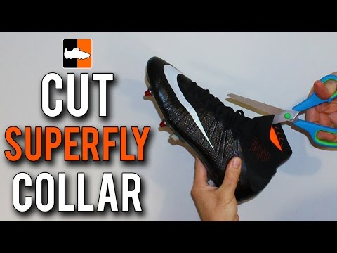 How to Cut the Collar on Nike CR7 Mercurial Superfly Football Boots