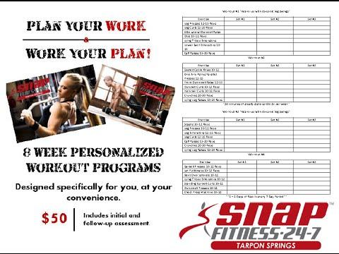 Sample Four Day Workout Plan