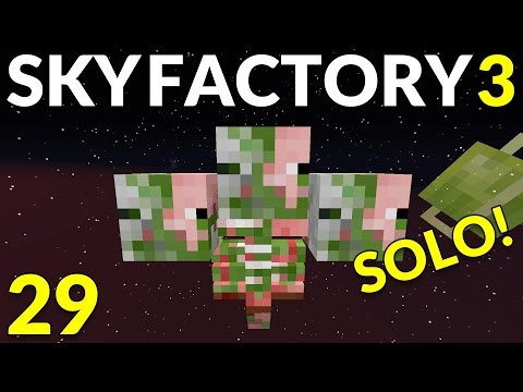 Sky Factory 3 29 Wacky Wither Farming!