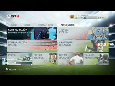 FIFA 14 PlayStation 3 - Menu Completo