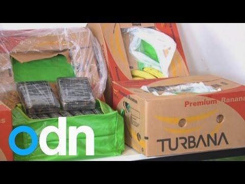 Berlin Police Find 380 Kilos Of Cocaine Hidden With Banana Shipment