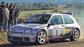 Best of Jean Ragnotti & Renault Clio Kit Car - with pure engine sounds