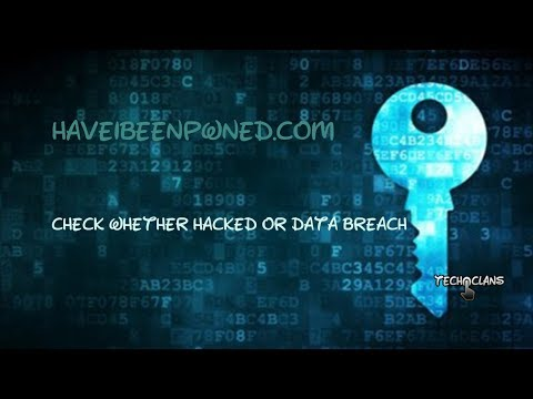 HOW TO CHECK IF YOUR ACCOUNT IS HACKED OR DATA BREACHED