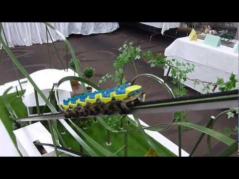 Posion Ivy Model Roller Coaster