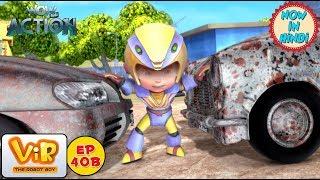 Vir: The Robot Boy   Car theif   As Seen On HungamaTV   WowKidz Action
