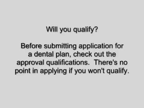 Dental Insurance for Individuals - Choosing a Dental Plan