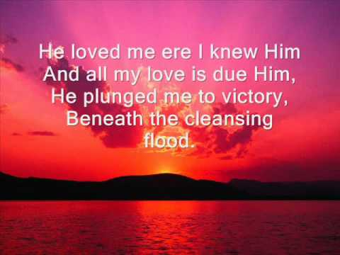 Victory in Jesus hymn with lyrics