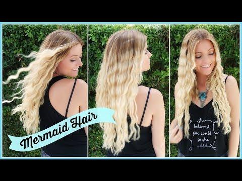 Mermaid Waves Hair Tutorial! Style By Dani