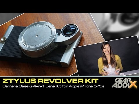 Ztylus Camera Case & 4-in-1 Revolver Lens Kit for Apple iPhone 5/5s (First Look)