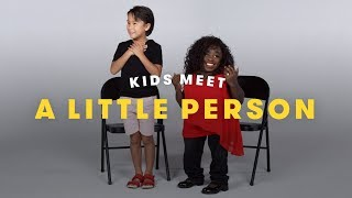 Kids Meet a Little Person