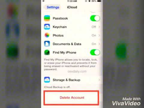 How to change your iCloud email address?