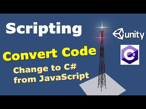 How to convert a JavaScript to C# in Unity 5