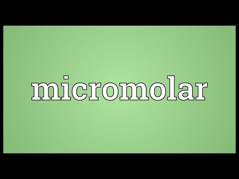 Micromolar Meaning