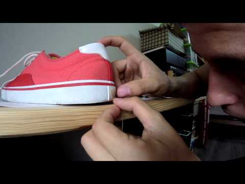 How to turn any shoe into Vans | Igi's strings