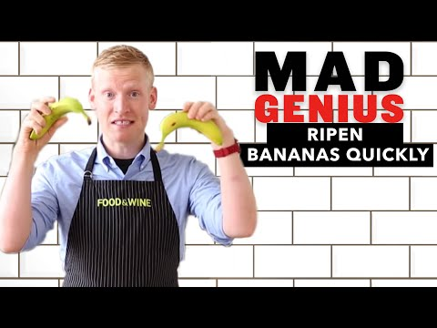 How to Ripen Bananas Quickly | Mad Genius Tips | Food & Wine