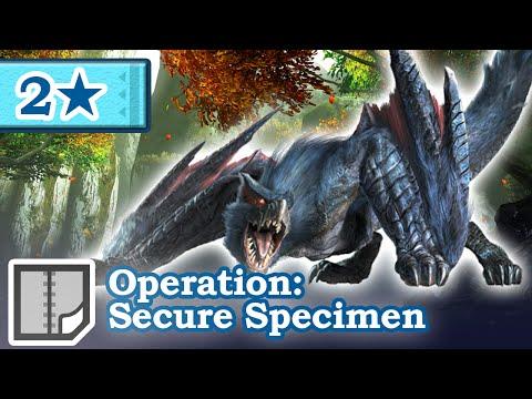 Let's Play Monster Hunter Generations - #49 - 2★ Operation: Secure Specimen