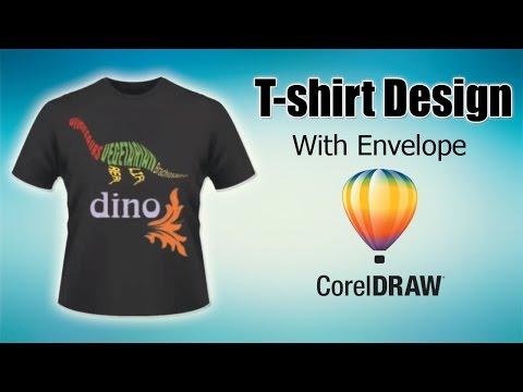 T-shirt Design In CorelDraw Software