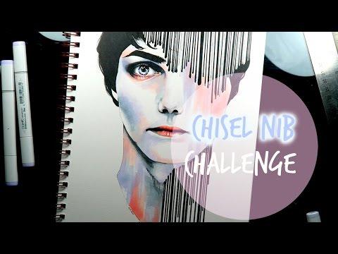 CHISEL NIB CHALLENGE W/ Gerard Way