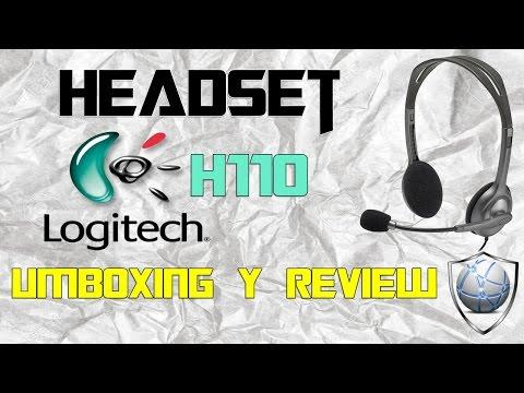Headset Logitech 110|Umboxin y review|Test de microfono