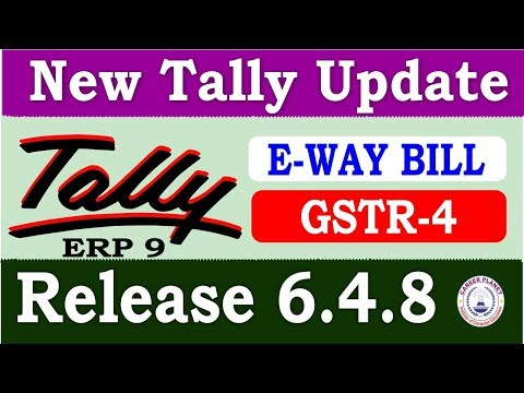 Tally ERP 9 Release 6.4.8 New Tally Update | Download Latest Tally Version