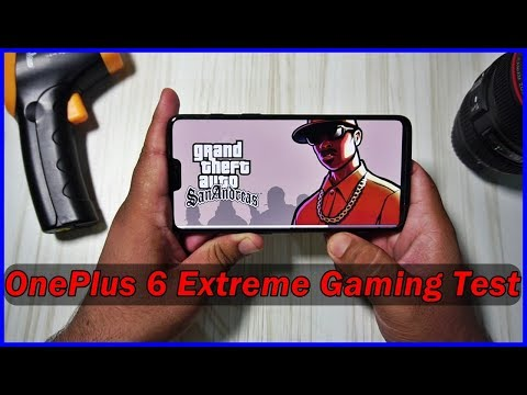 OnePlus 6 Extreme Gaming Review : 40 min Torture 🔥🔥