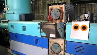Plastic Recycling Lines & Backflush Screen Changer System Yeajing YJ-PFR100.mpg