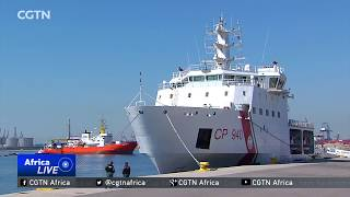 629 rescued people elated to reach the shores of Spain