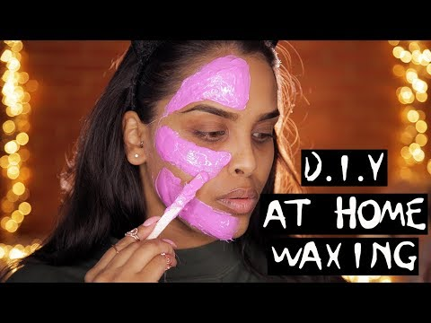 D.I.Y AT HOME FACIAL WAXING/ HAIR REMOVAL? DOES IT WORK?! NikkisSecretx