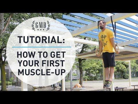 Muscle Up Tutorial - How To Do STRICT Muscle-Ups on the Gymnastic Rings