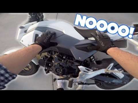 I DROPPED MY BIKE! | KEITH'S CRASH | ANOTHER DENVER TRIP