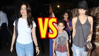 Who Wore The Shiny Denim Look Better: Malaika Arora Or Yami Gautam?