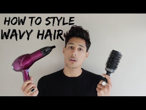 HOW TO MANAGE MENS WAVY HAIR | MENS HAIRSTYLE FAIL
