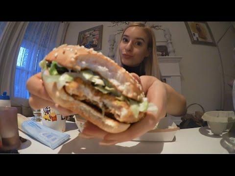 EATING SHOW: McDonalds McChicken Menu + McFlurry