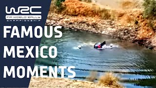 WRC History - Rally México incidents