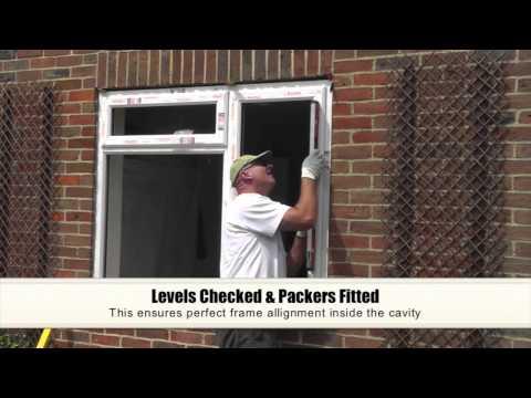 UPVC Double Glazing Window Installation