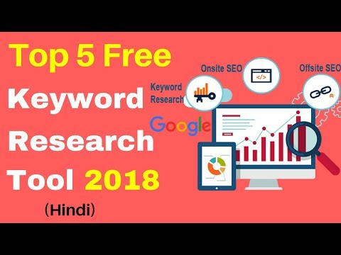 Top 5 Free Keyword Research Tools | Rank Website on Google[Hindi]