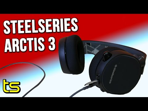Steelseries Arctis 3 headset review, mic test and 7.1 surround