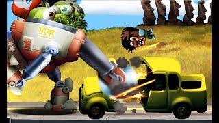 Zombie Tsunami #78 Игровой мультик для детей про зомби, веселый детский мультик игра для малышей
