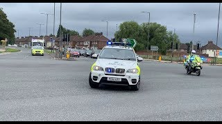 ARMED POLICE ESCORT HIGH SECURITY PRISONER **CONVOY** WRONG SIDE OF ROAD