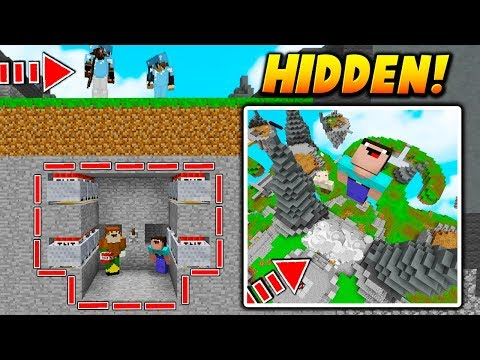 HIDDEN TNT MINECART TRAP! - Minecraft SKYWARS TROLLING (INSTANT LAUNCH!)