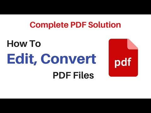 How To Edit PDF, Convert, Annotate, Protect and OCR with PDFelement