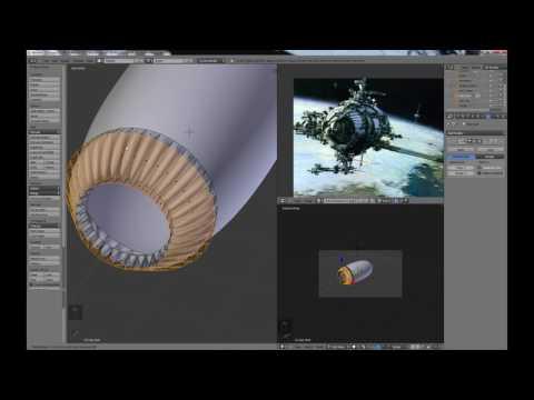 Blender For Noobs - the Secrets of Blender Modeling - Part 4 of 14