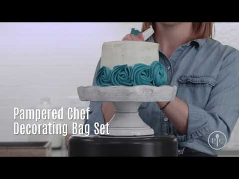 Ombre Cake Making Pampered Chef