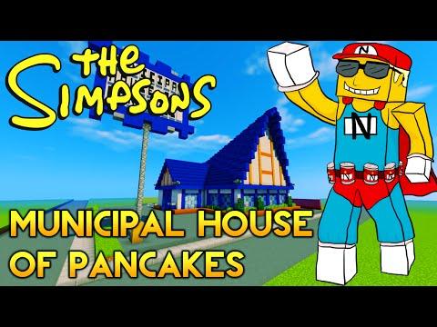 Minecraft Springfield S03: Municipal House of Pancakes & Girls! Girls! Girls!