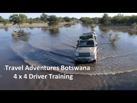 4x4 Off Road Driver Training with Travel Adventures Botswana